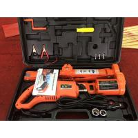Quality 12v electric powered auto lift scissor  jack and wrench kit for 3 tons lifting for sale