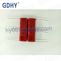 Quality 9mm Height 1UF 400VDC Polypropylene Film Capacitor for sale