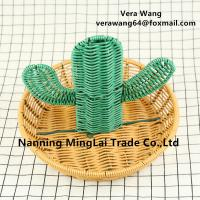 wholesaling Hand weaving Rattan eco-friendly food and vegetable storage basket for sale