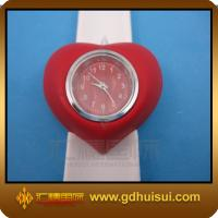 Quality red and white fashion silicone watch for sale