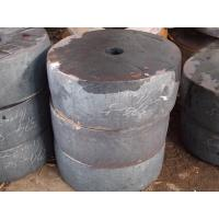 Quality EN Forged Alloy Steel Disc Forging, Industrial Tube Sheet 20MnMoNb 1.5 m Thickness for sale