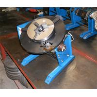 Buy Pipe Round Small Welding Table Hand Wheel With Foot Pedal 300kg 600mm at wholesale prices