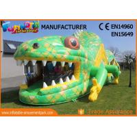 Quality Customized Size Adult Inflatables Obstacle Course With Digital Painting for sale