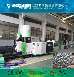 Quality compacting/agglomerating and pelletizing line/Plastic film pelletizing machine/pp pe film granulating machine for sale