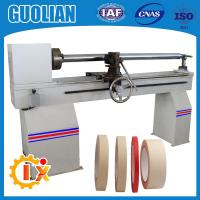 GL-706 Hot selling pvc electric tape jumbo roll cutting machine for sale