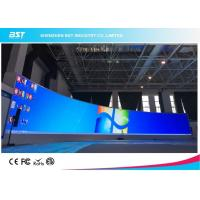 Quality P1.923mm HD Curved LED Screen , Round Fixed LED Video Display Screen 4K for sale