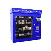 Quality Snack Beverage Combo Food Kiosk Machines with 5 ms Response Time Fixed Touch Sensitivity for sale