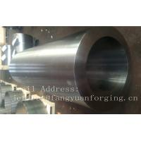 Quality Alloy Steel Carbon Steel Hot Rolled Bushing Sleeve Rough Machined Customized for sale