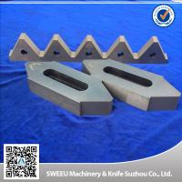 Quality Cr12Mov Material Plastic Granulator Blades For Copper Cables High Toughness for sale