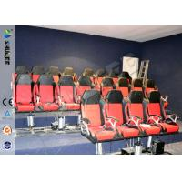 Buy Eletronic / Pneumatic 3DOF Motion Theater Chair With Wood Frame Carton at wholesale prices