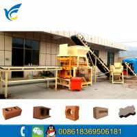 Quality Multi-function clay soil interlocking block making machine line for sale