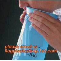 China 1000ml and 2000ml plastic medical emesis bag with custom printing, 24 pcs per pack,Airplane Emesis Vomit Bag Disposable on sale