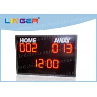 Quality University LED Basketball Scoreboard With Shot Clock CE / ROHS Approved for sale