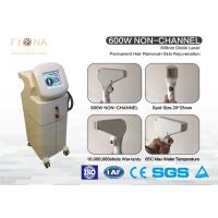Quality 808nm  Painless Diode Laser Hair Removal Machine Non - Channel Stationary Style for sale
