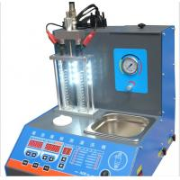 Quality 2 Jars Fuel Injector Cleaner Machine , Motorcycle Fuel Injector Cleaner Tester for sale