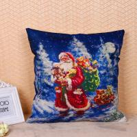 Quality 45 * 45cm Cotton Linen Decorative Pillow Covers For Couch Eco Friendly for sale