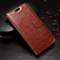 Quality Scrath Resisitant Huawei Y5 Leather Case Crazy Horse With Custom Logo for sale