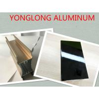Quality Electrophoresis Aluminum Window Screen Frame , 6060 6061 6063  Tile Trim for sale