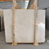 Modern Style Latte Beige Marble 132.8 Mpa Compressive Property , 2.73 G/Cm3 Bulk Density for sale