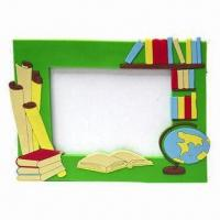 Quality PVC Photo Frame for Promotional Gifts, Customized Designs, Sizes and Colors Accepted for sale