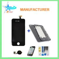 Quality iPhone 4 complete LCD with digitizer iPhone repair parts for sale