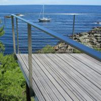 Quality High Quality Outdoor Staineless Steel Handrail Cable Railing for Deck for sale