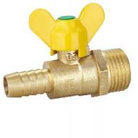 Quality Male Thread Butterfly Brass Gas Valve (SS9030) for sale