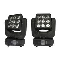 Buy RGBW 4 in1 Matrix LED Beam Moving Head Light 9 X 10W 240V 60Hz at wholesale prices