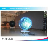Quality 360° Arc Flexible module Curved LED Screen Video Display For stage / event show for sale