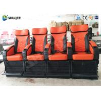 Quality 4 People 4D Movie Theater With Electric / Pneumatic / Hydraulic Power Mode for sale