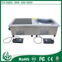 Quality Double burner commercial induction cooker for sale