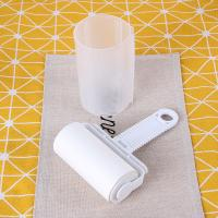 Quality White Sticky Lint Roller, Paper Used, Efficient Dust / Hair / Fuzz Remover for sale