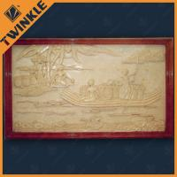 Buy cheap Western / Eastern Stone Relief Carving Sandstone For Indoor Decoration from wholesalers