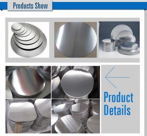 Cooking Pot 1100 Aluminum Circle Blanks Polishing Mill Finish 3mm Thickness