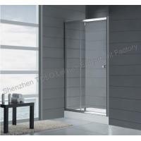 Quality Rotating Shower Screen Glass Enclosed Showers , Sliding Square Single Hinge Door for sale