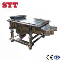 Linear vibrating screen used for soya bean,wheat bran,rice bran for sale