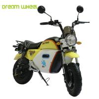 Quality Graphene Battery Electric Motor Scooters For Adults , 25-32km / H Speed for sale