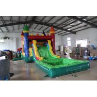 Quality Kids Bouncy Castle Slide With Pool for sale