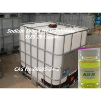 China Qualified Sodium Fatty Alcohol Ethoxylate Sulfate 28%,AES for liquid Detergent on sale