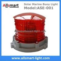 Quality 2-3NM Solar Marine Beacon Lights Navigation Lantern for Ship Barge Dock Deck Yacht Security Warning for sale