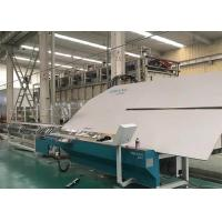 Quality Stable Bending Glass Machine , Warm Edge Spacer Double Glazing Label Printing for sale