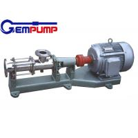 Quality I-1B explosion-proof stainless steel thick slurry pump / Single Screw Pump / printing pump / dyeing pump / paper pump for sale
