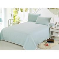 Quality Multiple Colors Luxury Bed Sets , 3 Pcs Lightweight Fabric Softest Cotton Sheets for sale