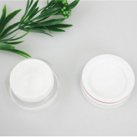 Quality Custom empty 5g 10g 15g 20g 25g 30g 50g 100g frosted skin care cream jar cosmetic jar container with lip for sale