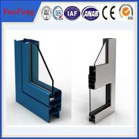 Quality New! extruded aluminium profile for windows and doors price per kg for sale