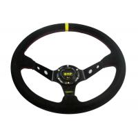 Buy Black Heated Steering Wheel Cover With Not Easy Peeling Breathable Fabrics at wholesale prices