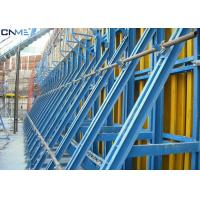 Quality Steel Material Concrete Wall Formwork Systems Flexible Height Adjustment for sale