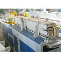 Quality PVC Plastic Profile Extrusion Line For Pvc Door And Windows Making Machine for sale