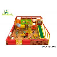 Quality Kindergarten Baby Indoor Playground Anti - Skid With Custom Made Design for sale