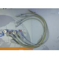 Buy 5 Leads Snap ECG Monitor Cable Leadwires , Compatible Din Style ECG Truck Cable at wholesale prices